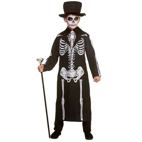 Boys Day of the Dead Skeleton Costume Walking Dead halloween Zombie Fancy Dress